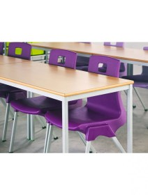 classroom md rectangular tables welded fully metalliform table stacking furniture office 121officefurniture
