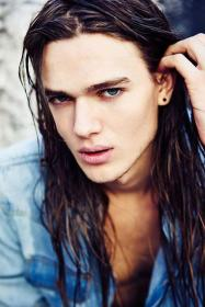 largo pelo models ben cabello guys boys hombres pretty gorgeous hombre male haired blow cortes chicos hairstyles cheveux hommes magazine