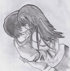 pencil couples sketches drawings boy kiss cool sketch friends easy couple drawing girlfriend boyfriend boys ii wallpapers