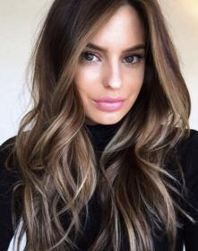 largo pelo cortes cabello balayage brunette highlights brown sombre tendencias moda degrade capelli mujer dark tendencia caramello cheveux blonde ash