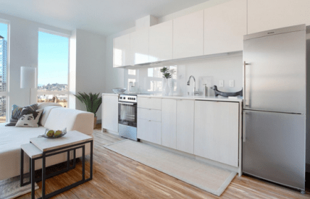 Small Combined Kitchen And Living Room Novocom Top