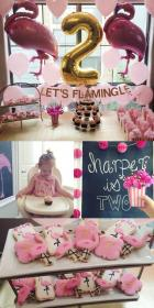 birthday party 1st theme baby themes bday parties adorable moms try should loveloveloveblog themed veronika flamingle blushing let