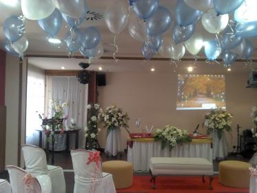 LANAS y BARRO : Decoración globos boda civil