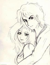 pencil sketch sketches couples couple cool eyes drawings drawing boyfriend boy anime girlfriend lovers things heart