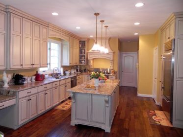 Classic French Country Kitchen Cabinets by Graber