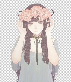 pfp aesthetic anime brown drawing aesthetics clipart