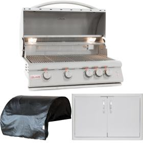packages piece equipment blaze package propane inch lte gas bbqguys appliance kitchens premium grill