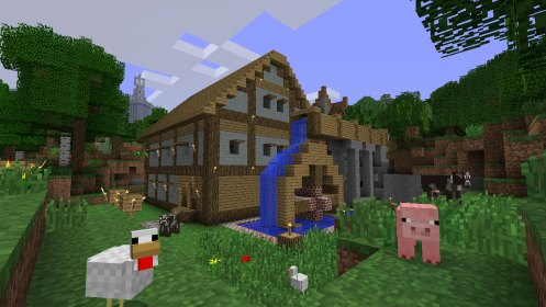 minecraft build houses nice