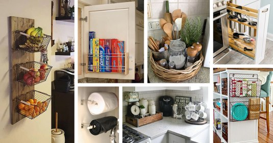 small kitchen storage organization ideas featured homebnc