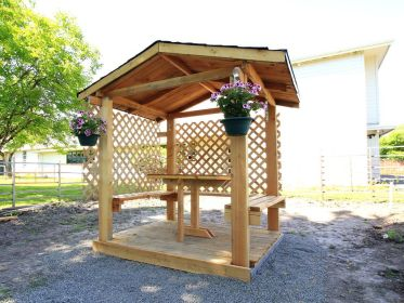 gazebo diy wooden build own backyard projects amazing plans garden gazebos wood simple budget pergola homedit patio cool instructables provides