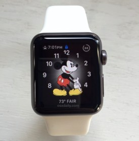 apple display mickey mouse longer tapped screen active keep change considerably activate verify stay