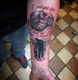 son father tattoos tattoo designs dads symbols forearm quotes cool quote dedicated daddy half playing sohn vater tattoosboygirl tatoos both