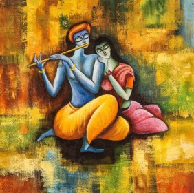 Buy Radha Krishna Love Forever by Community Artists Group