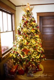 christmas tree most trees decorate ever gorgeous creative put decorations angel ribbon flickr ugly room