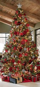 christmas trees most tree traditional decorations decorated pretty beautifully decor silver gold creative decorating gorgeous