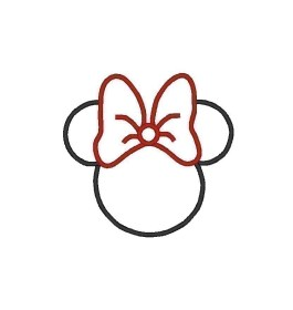 mouse mickey outline face cliparts minnie head clip clipart attribution forget link don