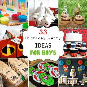 birthday party boys themes boy theme decorations fun parties awesome diy 2nd creative looking games toddler during baseball superhero happy
