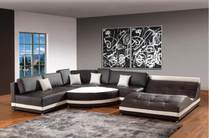 furniture sofa living modern leather sectional corner sofas brown dark easy clean shaped cleaning keep tips looking designs views