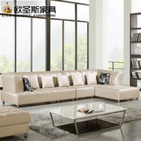 sofa barcelona leather silver shape cow sectional corner modern designs prices sofas ocs aliexpress room furniture living