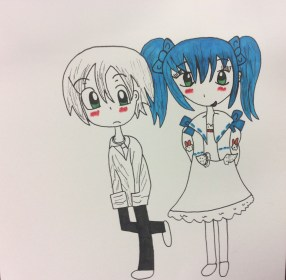 Boy and Girl Draw what you Imagine make fiction reality :3