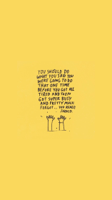 aesthetic wallpapers baddie edgy yellow positive minimalist simple iphone basic frases pastel desktop inspirational words neon backgrounds laptop phone motivational
