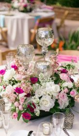 mesa centros centerpieces bodas table boda adornos espectaculares stunning centro flower flowers floral rose settings 29th edition arreglos arrangements mesas