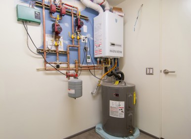 radiant heating heat systems floor homes system plumbing gas boiler build underfloor heater right hydronic pump floors heated types piping