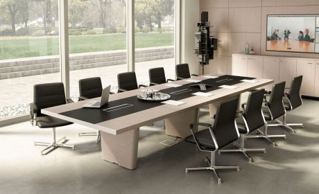What s Hot: Minimizing Wires With Smart Office Furniture