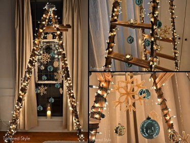 tree ladder christmas navidad arboles alternative originales trees diferentes creative lights way alternatives praktic fun decorations projects favorite muy idea