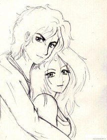 drawing easy sketches pencil couple cartoon drawings simple boy getdrawings sketch draw couples nice wallpapers clipart kawaii anime paintingvalley