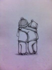 Friendship Drawing at GetDrawings Free download