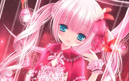 anime pink cute wallpapers pc aesthetic hd background backgrounds widescreen bigest wallpaperaccess smiths anband