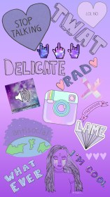 cute purple wallpapers iphone galaxy kawaii background pretty ombre resolution mehhh cheer getwallpapers