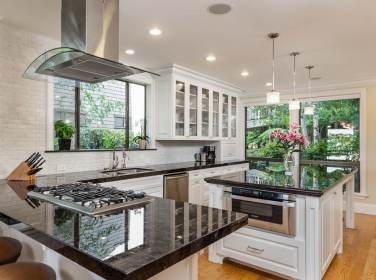 kitchen granite island designs islands cabinets countertops countertop galaxy luxury gorgeous kitchens dark modern transitional nordic counters decoration idea traditional
