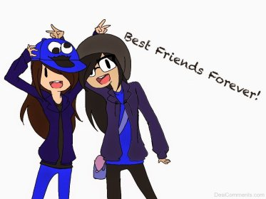 friends forever wallpapers cartoon friendship friend characters drawings desicomments boy anime suggestions three keywords groups quotes href src code