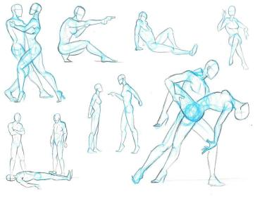 dancing couple drawing references dance figure relationship reference sketches action tags happy