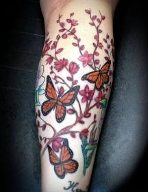 arm tattoo designs tattoos ladies butterfly awesome smoking