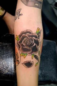 tattoos arm tattoo rose designs yellow forearm hand awesome inner valentine roses bird leafs latest freshboo purple skull left neck