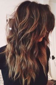 long hairstyles layered layers hair highlights haircuts