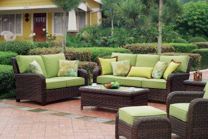patio furniture outdoor brands living space comfortable seating rattan sofa ever interior homesfeed opt