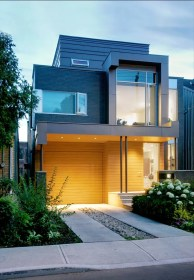 storey contemporary facade unique gray concept homesfeed inside glass stylish front posh living