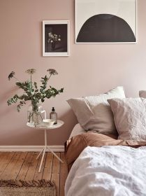 bedroom wall pink aesthetics shades wood baby floors naps quality table round
