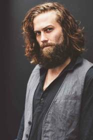 beard hairstyles norway male mens hombres thick length beards cortes espen wavy models cabelo haired mid beardbrand care peinados lang