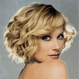 short curly hair haircuts blonde hairstyle side swept bob pixie hairstyles wavy compilation