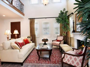 living room hgtv rooms decorating colors decorate decorated dining paint schemes livingroom furniture palette cream palettes front walls interior scheme