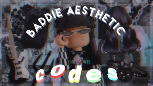 roblox baddie aesthetic codes accessory