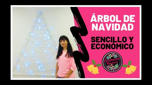 Árbol de Navidad de pared DIY Christmas Three YouTube