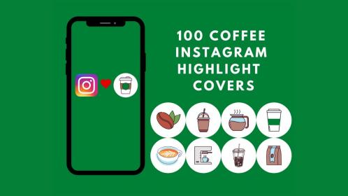 instagram highlight coffee covers barista cafe lover