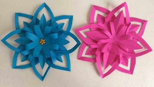 papel flores manualidades paper flower