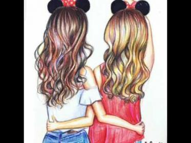 Cute best friend pics and drawings ( short video ) YouTube